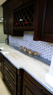 Coast to Coast showroom quartz counter