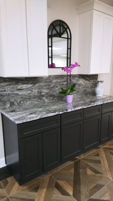 Coast to Coast showroom granite countertop display area