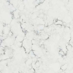 Arabis White Quartz countertop slab color sample