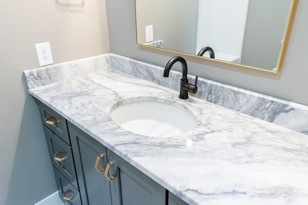 Mont Blanc Marble bathroom vanity top