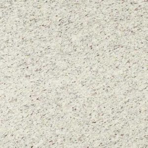 White Ornamental Granite countertop slab color sample