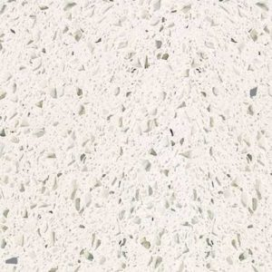 White Lace Quartz countertop slab color sample